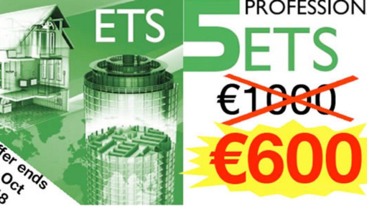 Save 400€ with Group Discount on ETS5 Pro